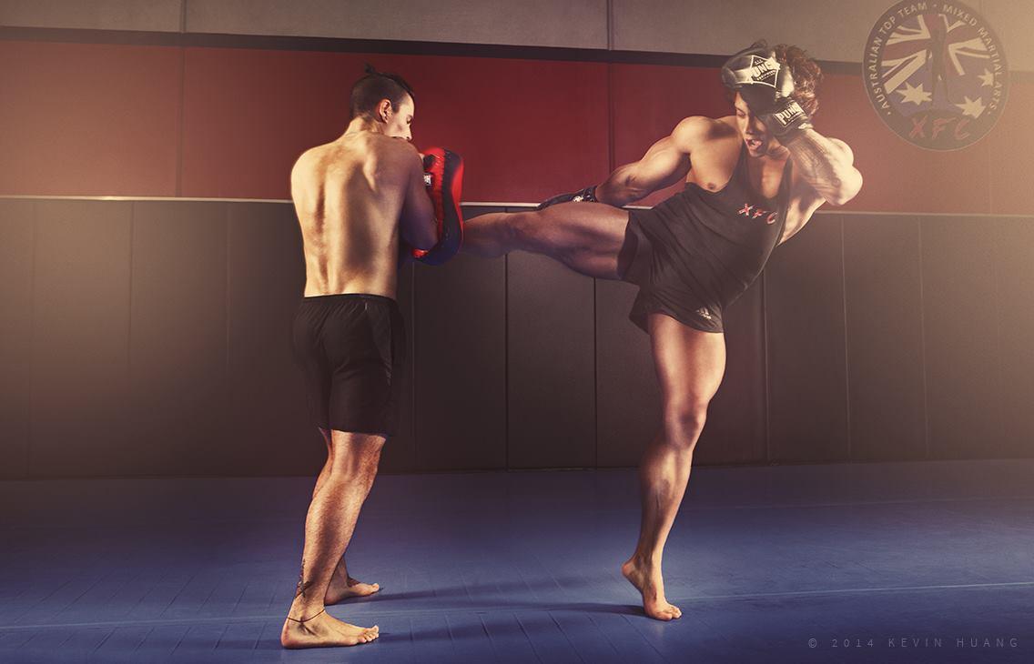 warren thai boxer